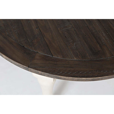 Madison County Oval Table - White