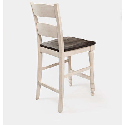 Madison County Stool - White