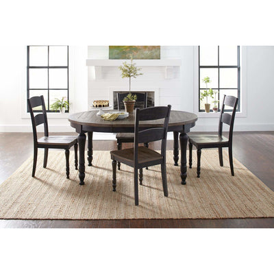 Madison County Oval Table - Black
