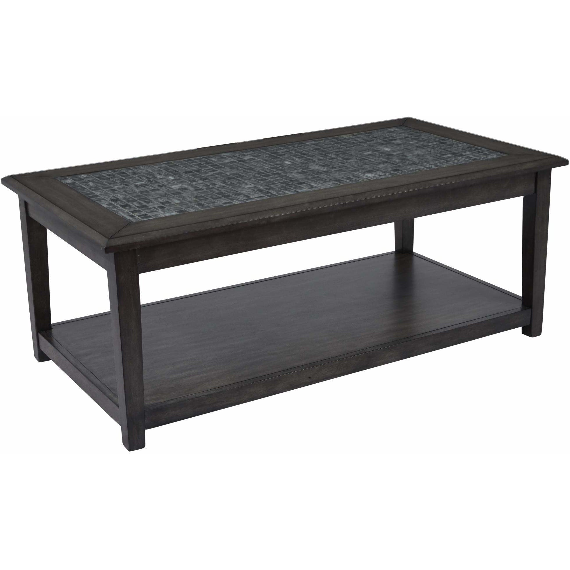 Grey Mosaic Cocktail Table