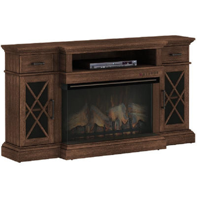 Panorama Media Fireplace