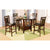 Dark Merlot Pub Dining Set
