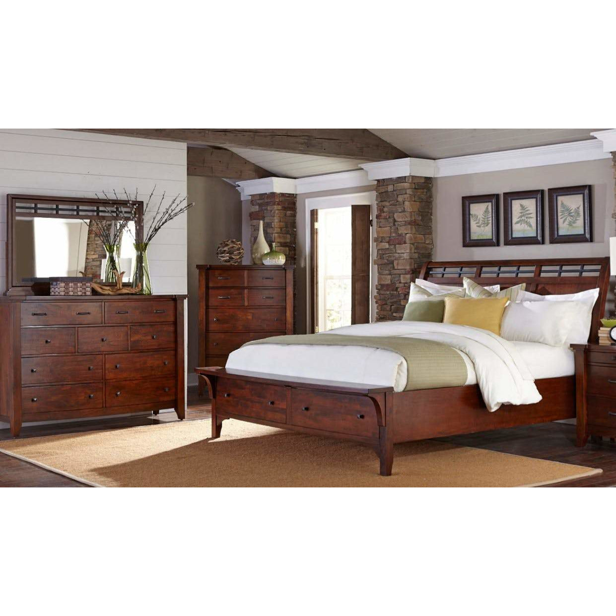 Whistler Retreat Storage Bedroom