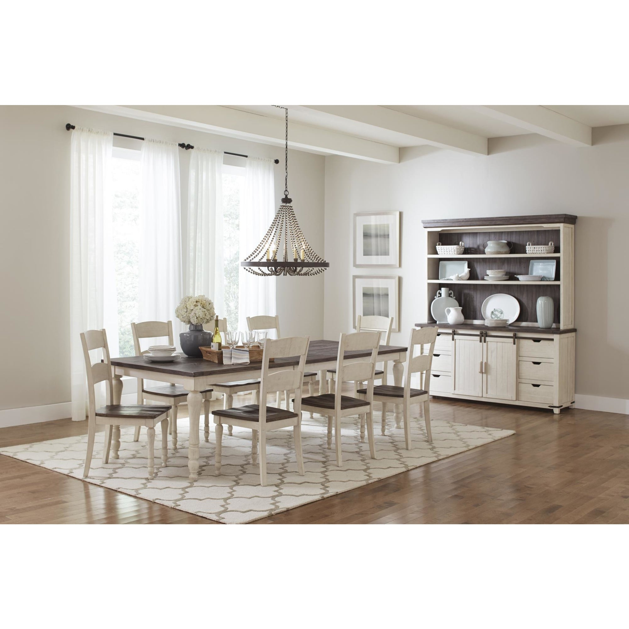 Madison County Dining Set - White