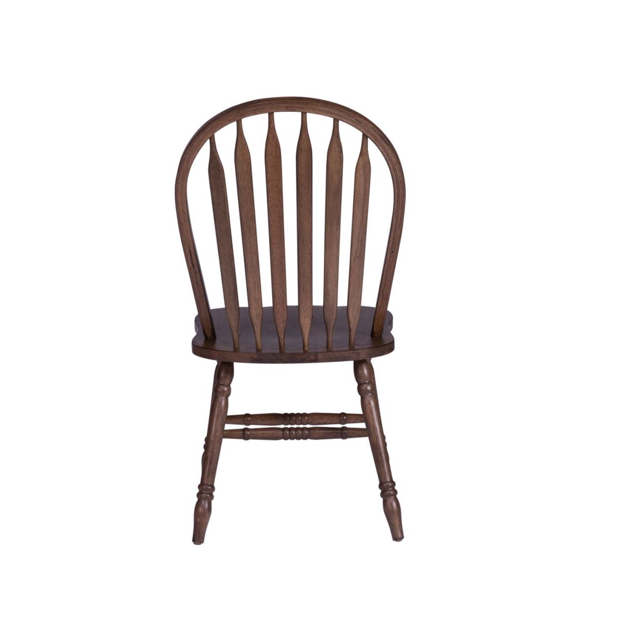 Carolina Crossing Honey Windsor Side Chair