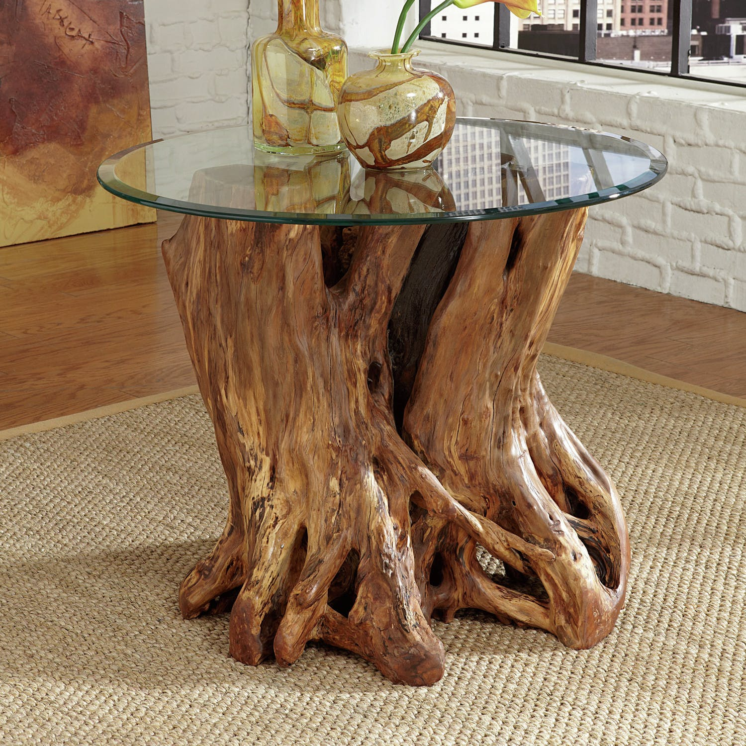 Rootball End Table
