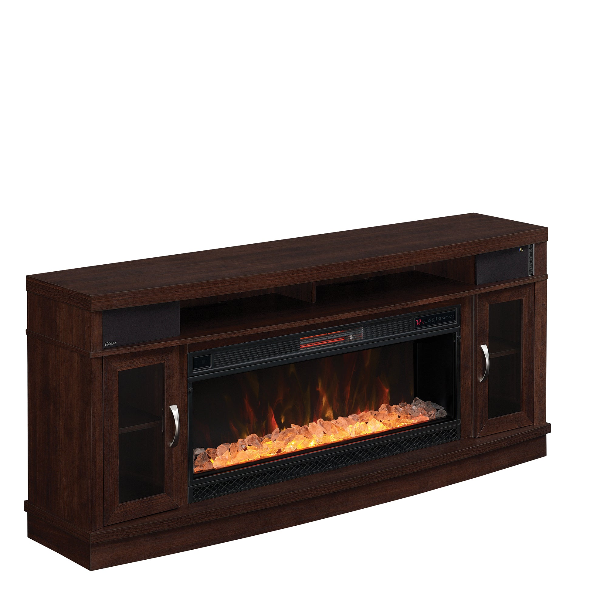 Deerfield Media and Sound Fireplace