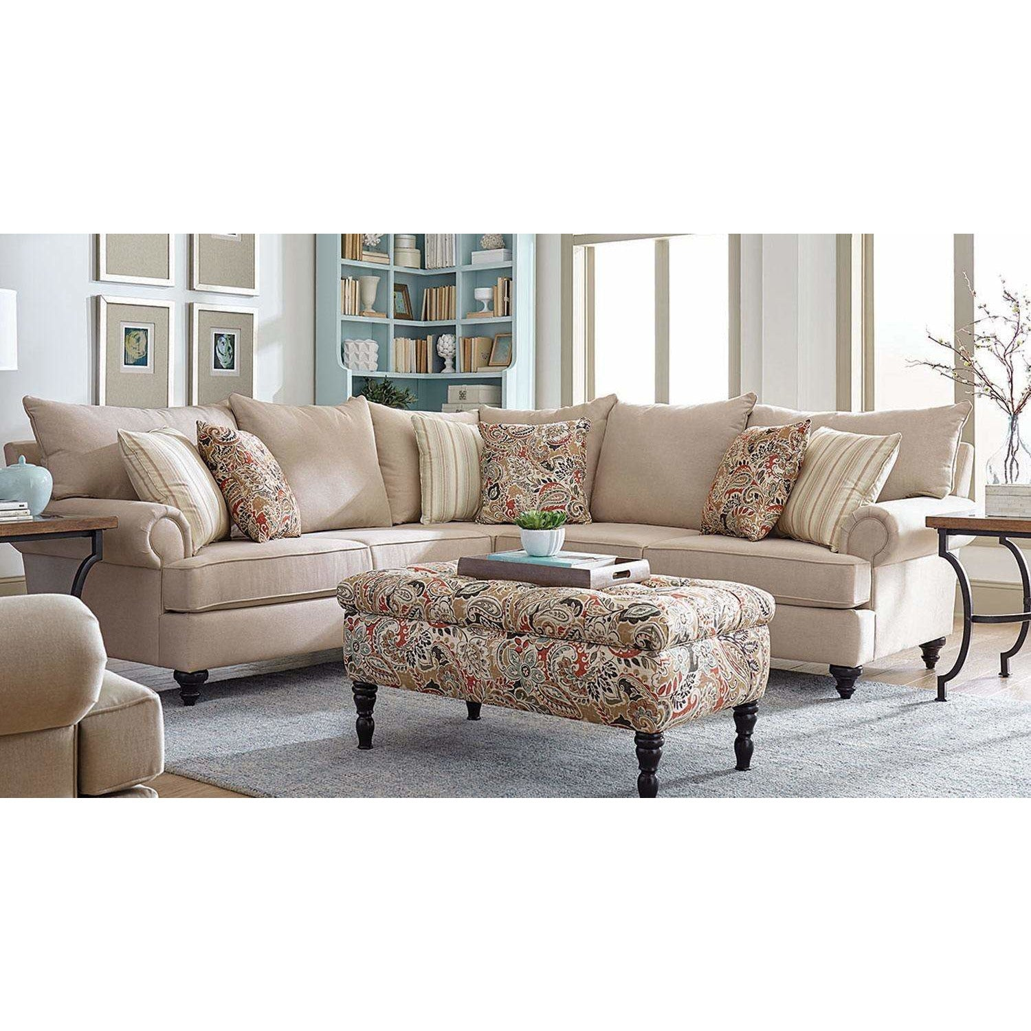 Rosalie Sectional with Ottoman
