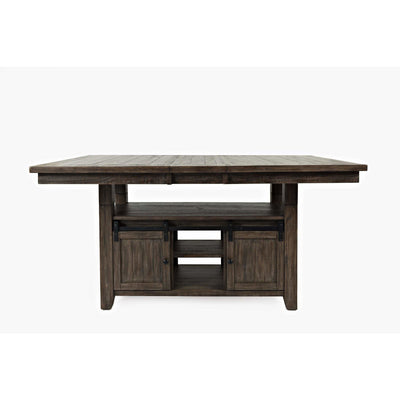 Madison County High-Low Table - Barnwood