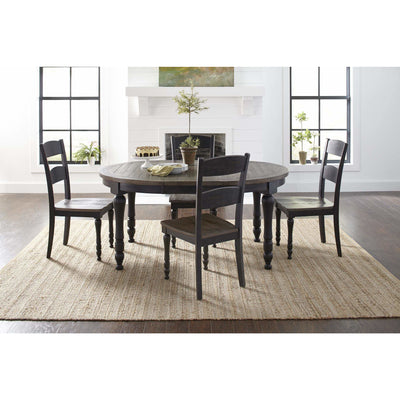 Madison County Oval Dining Set - Black