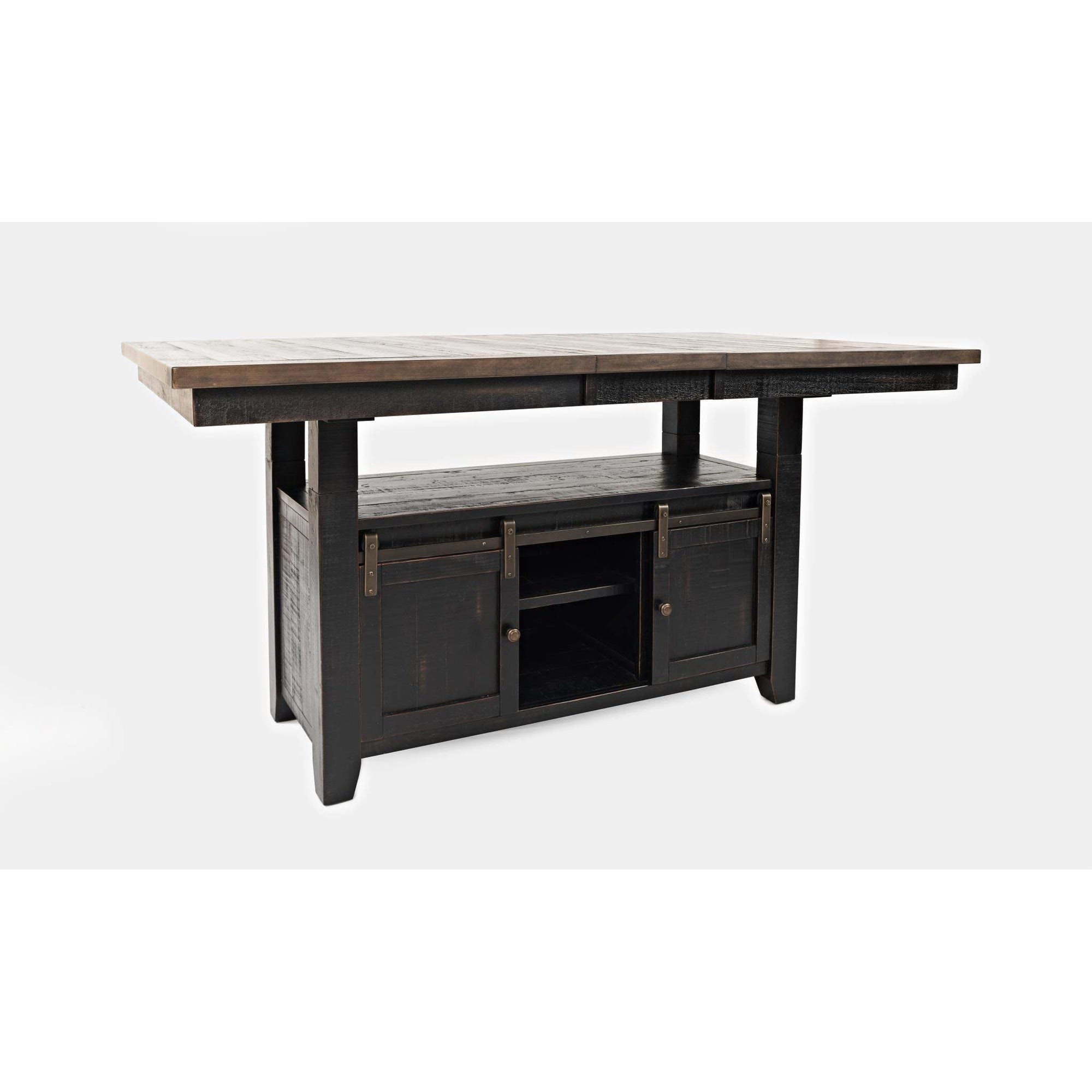 Madison County High-Low Table - Black