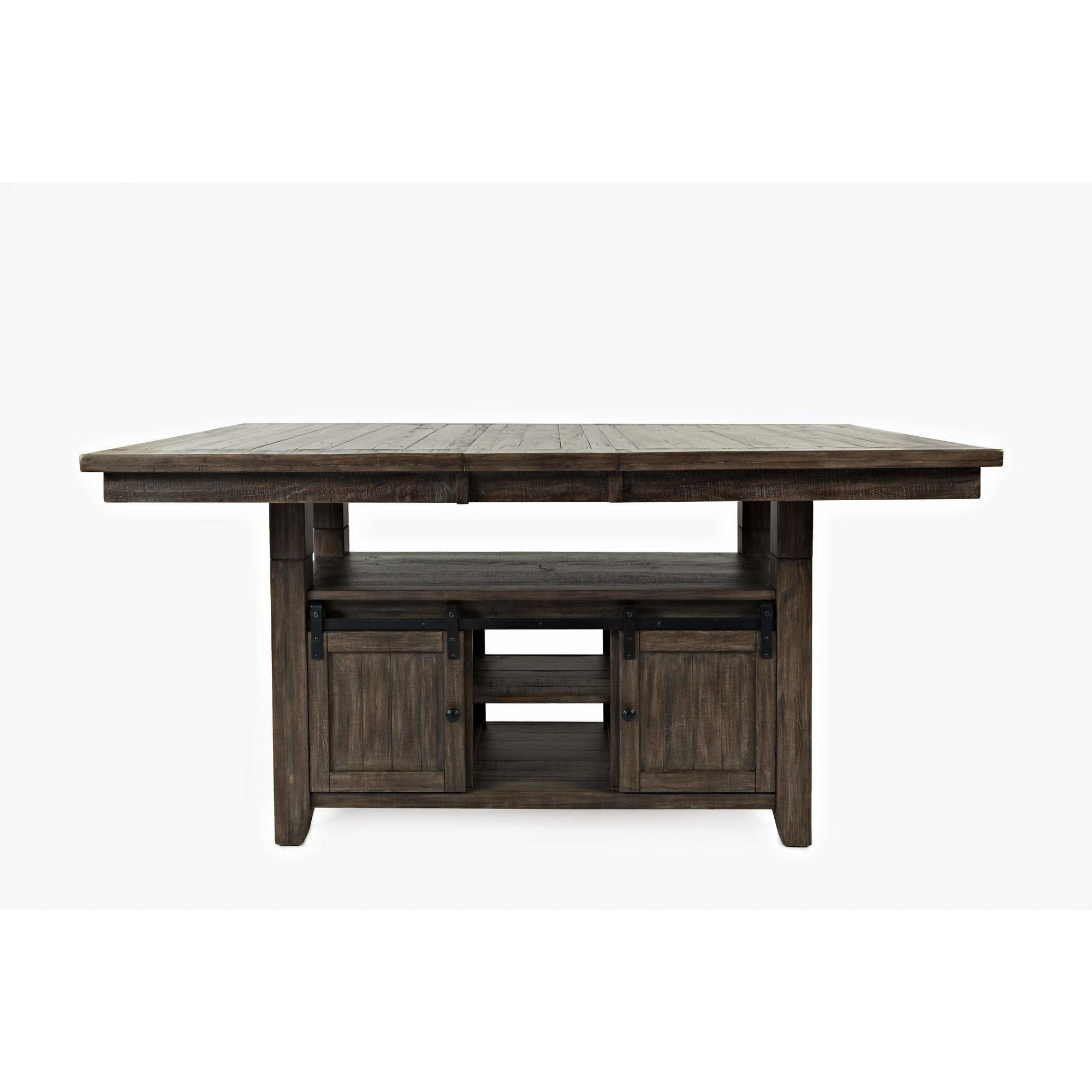 Madison County Counter Dining Set - Barnwood