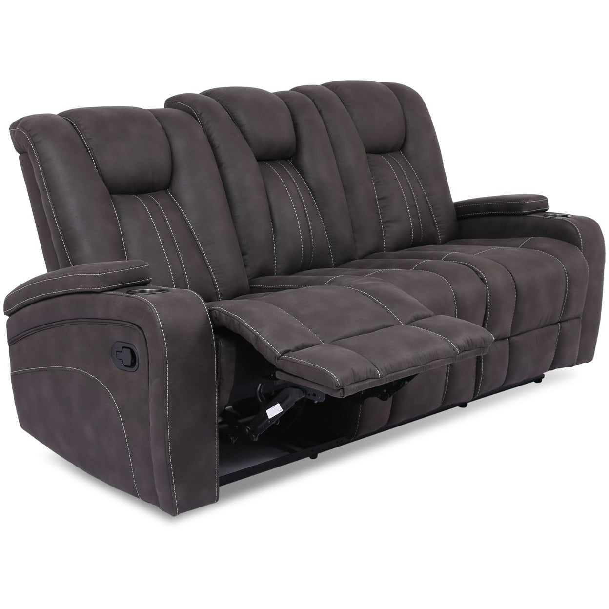 Cowboy Reclining Sofa with Drop Down Table