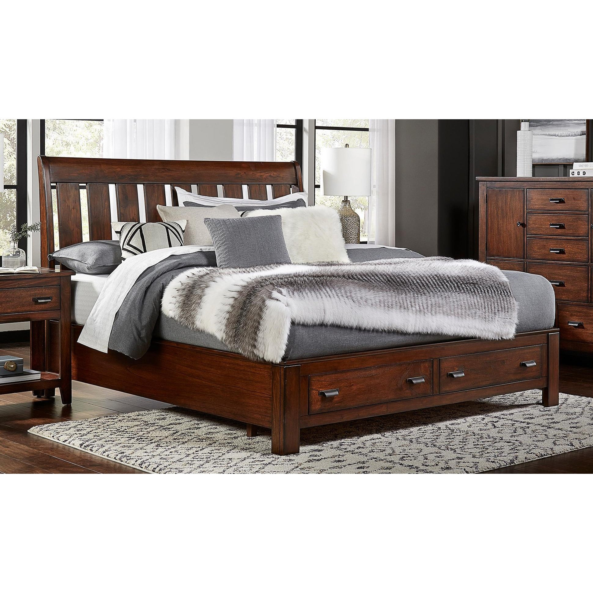 Trembessi Storage Bed