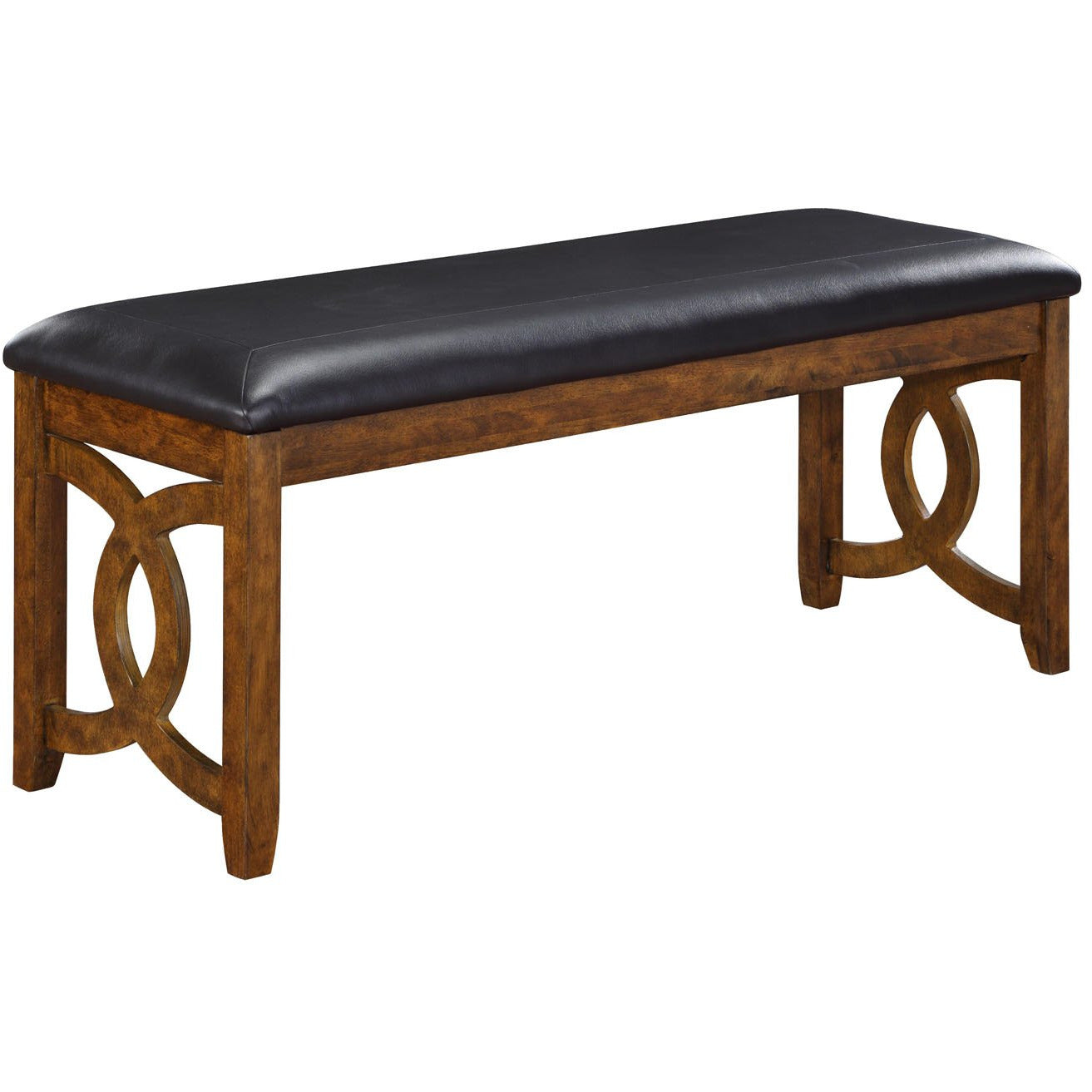 Gia Links Brown Dining Bench