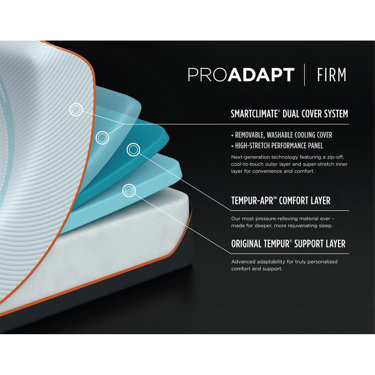 TEMPUR-ProAdapt® Firm Mattress