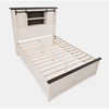 Madison County White Barndoor Bed