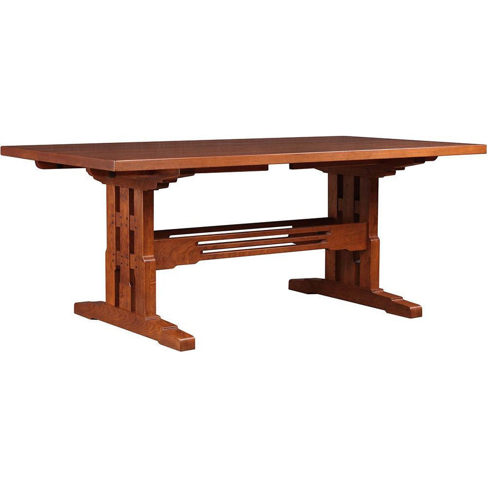 San Marino Trestle Table with Leaves