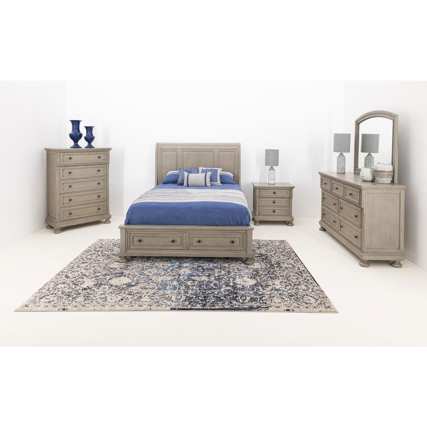 Chagrin Falls Storage Bedroom Group