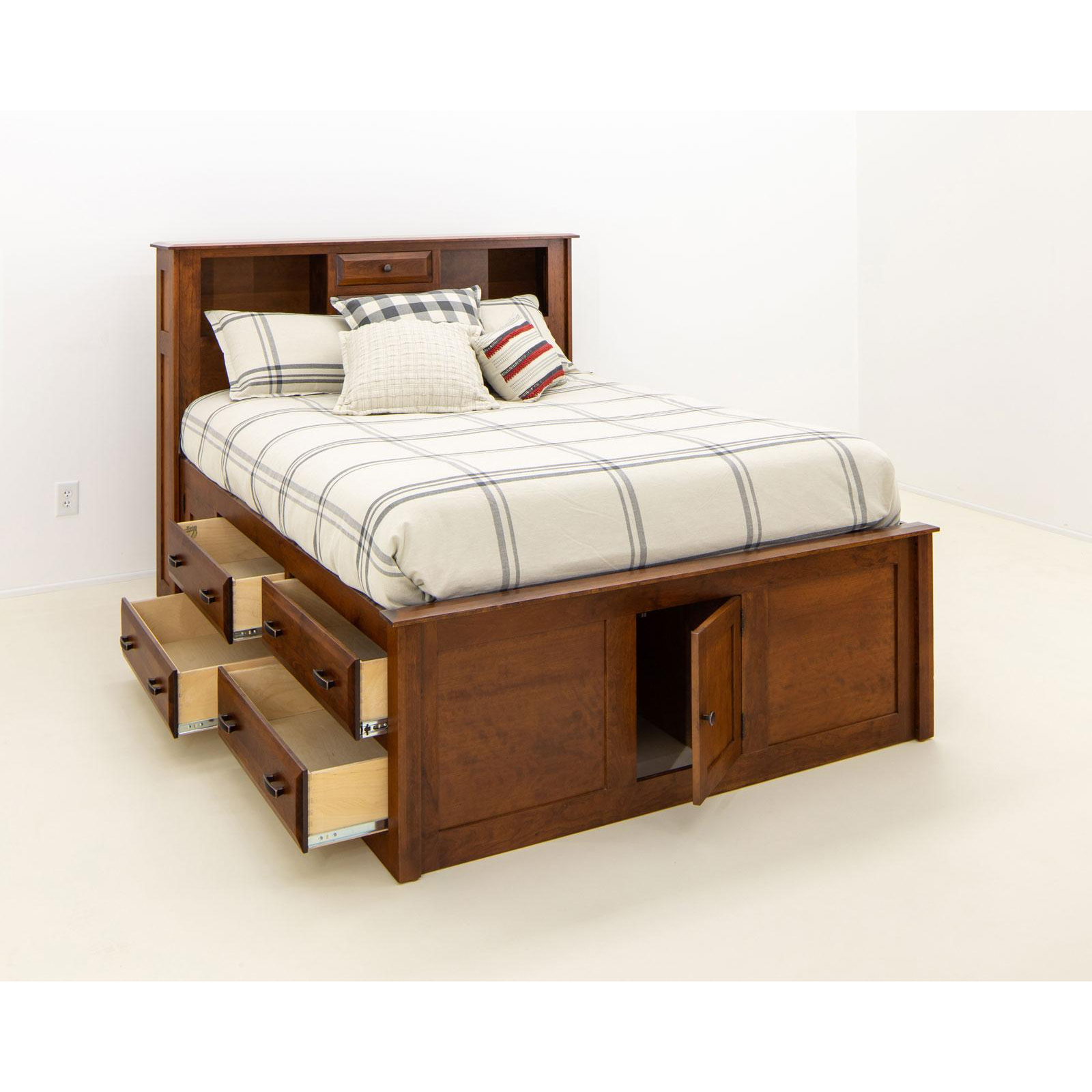 Simplicity Bookcase Storage Bed