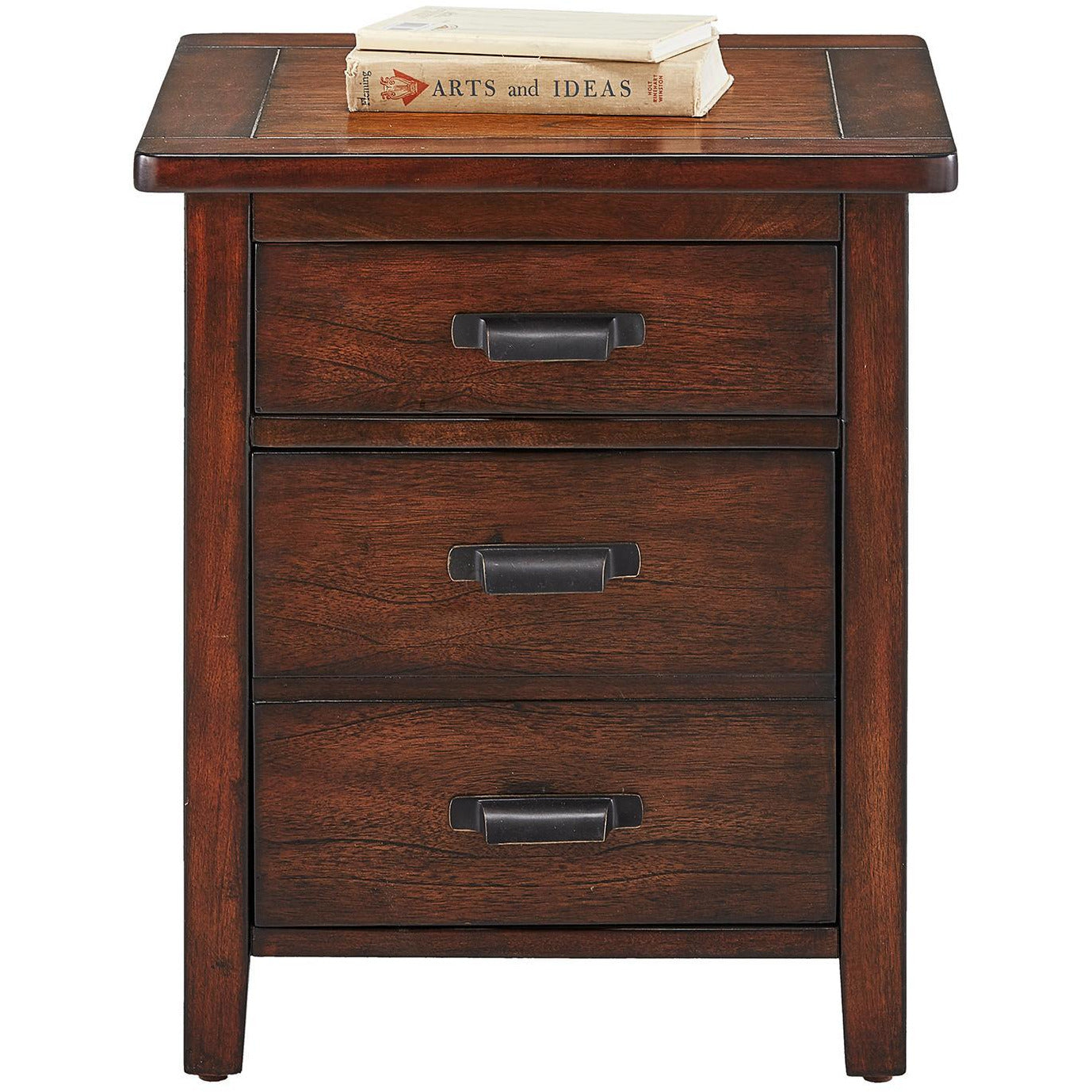 Trembessi File Cabinet End Table