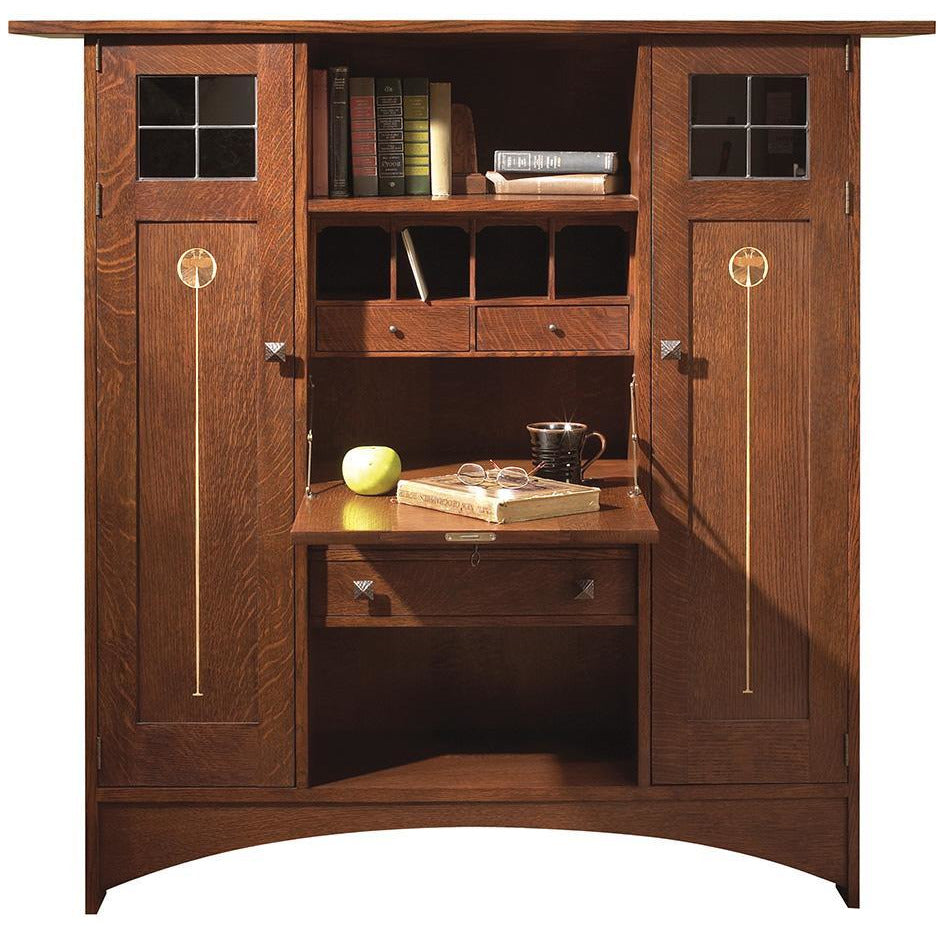 Harvey Ellis Fall Front Bookcase