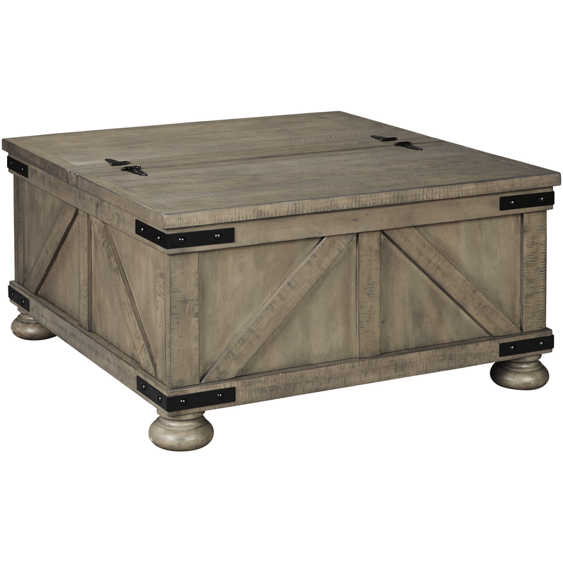 Aldwin Storage Cocktail Table