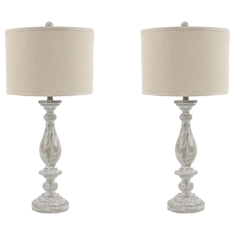 Pair of Bernadate Table Lamps
