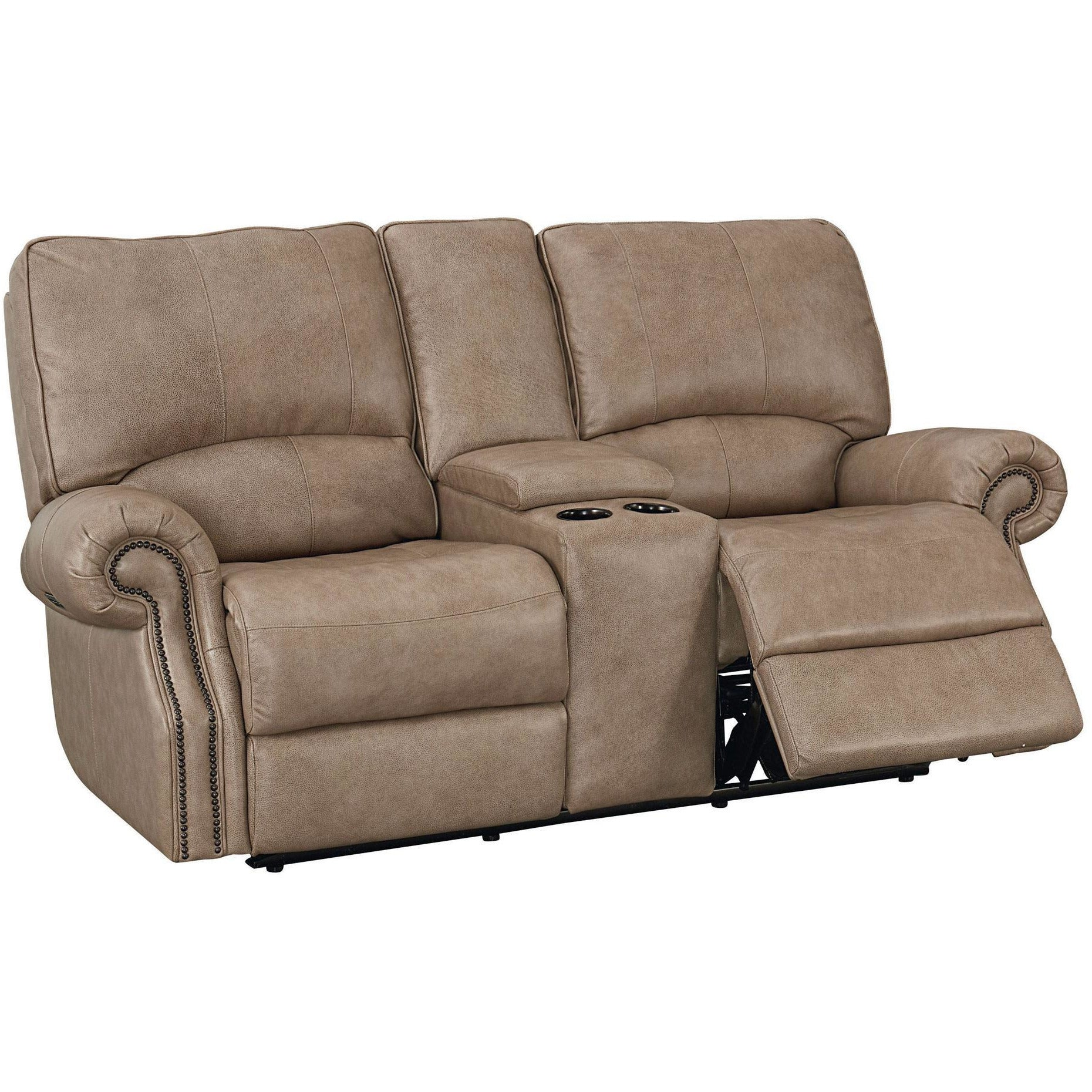 Prescott Power Loveseat with Console