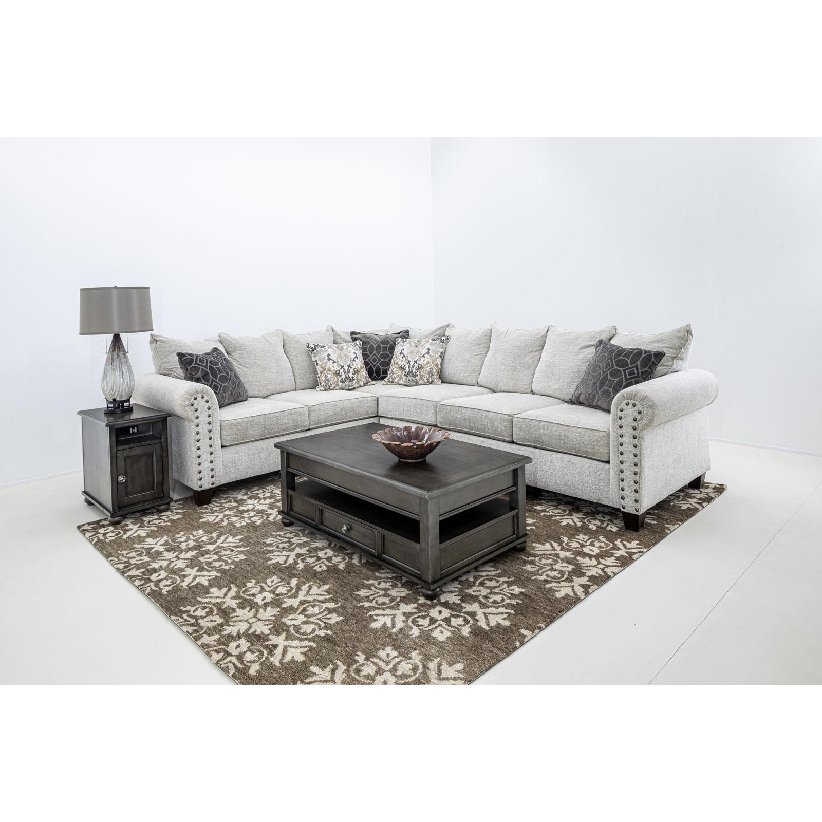 Della Left Facing Sectional