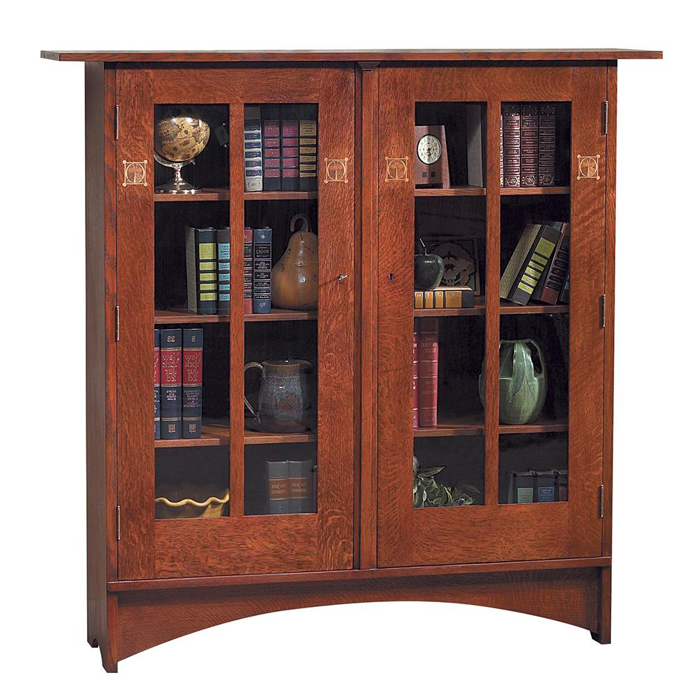 Harvey Ellis Bookcase with Inlay