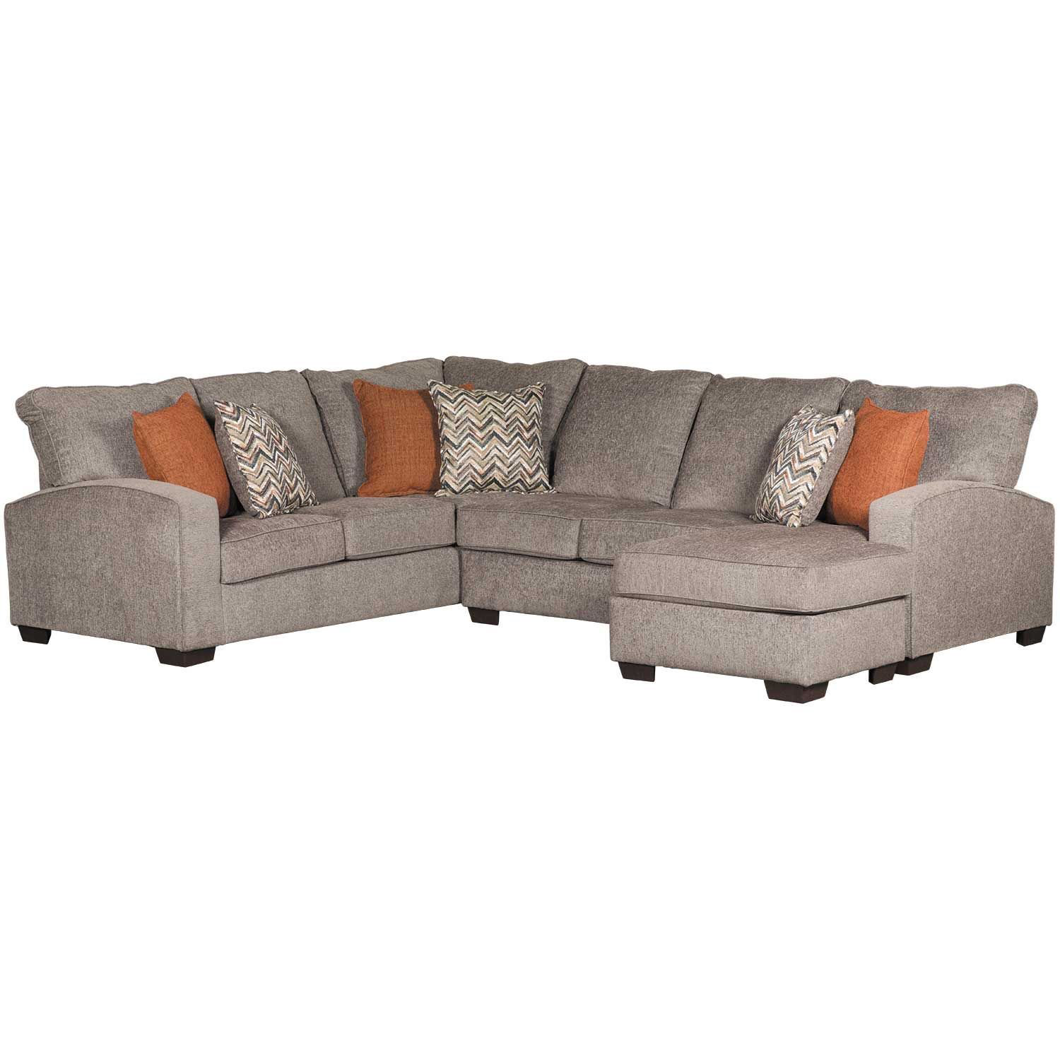 Endurance Bump Chaise Sectional