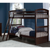 Sidney Chocolate Bunk Bed