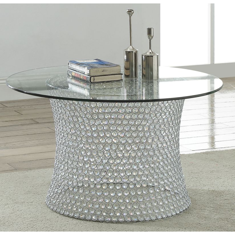 Crystal Cocktail Table
