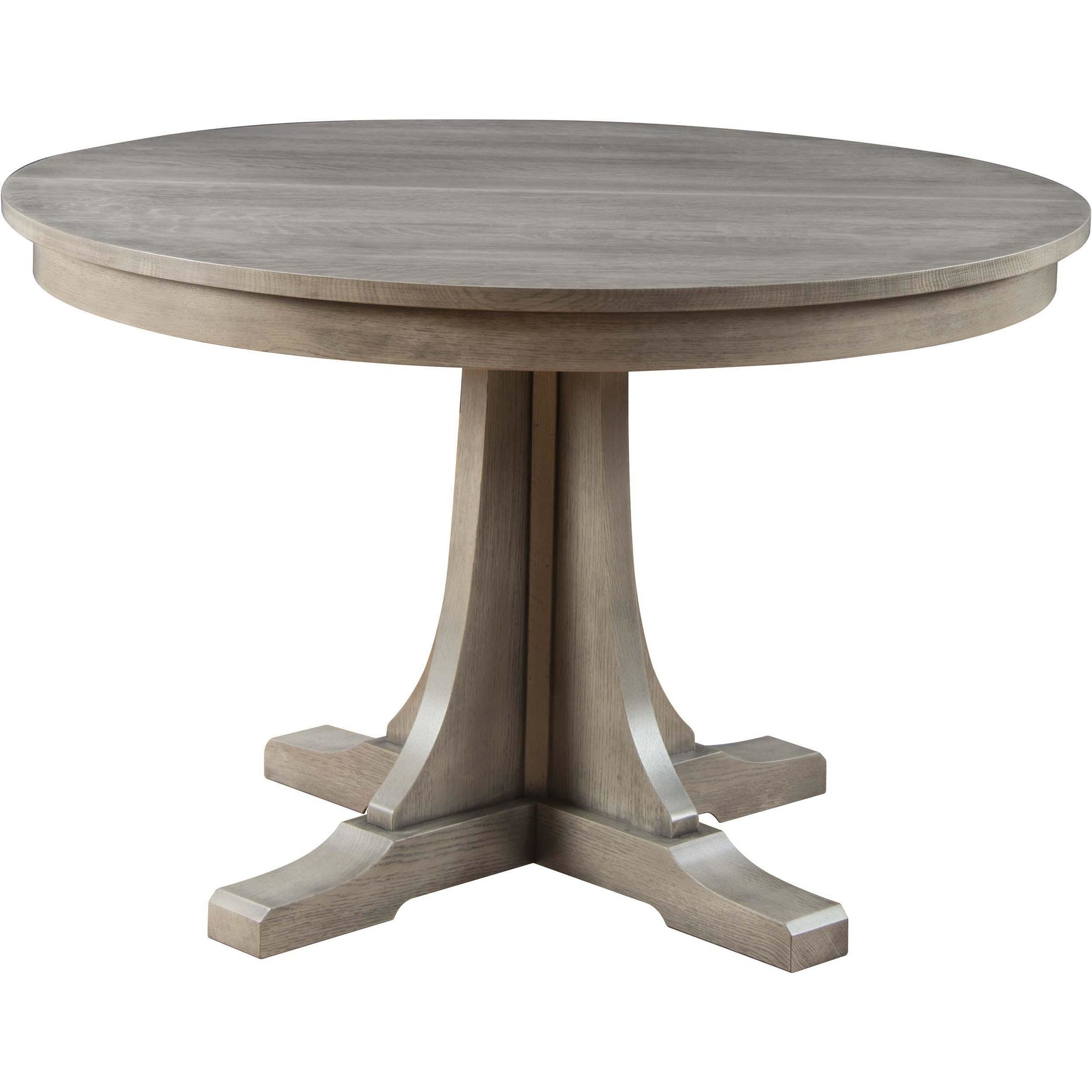 Round Pedestal Table with Leaves