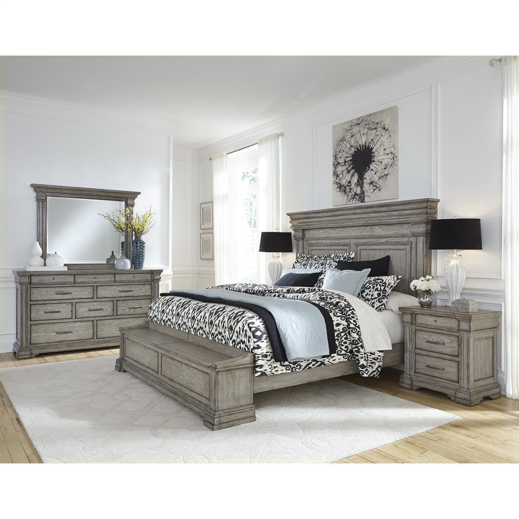 Madison Ridge Storage Bedroom Group