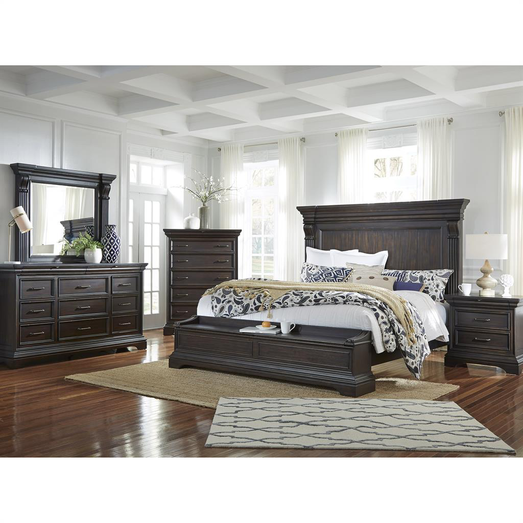 Caldwell Storage Bedroom Group