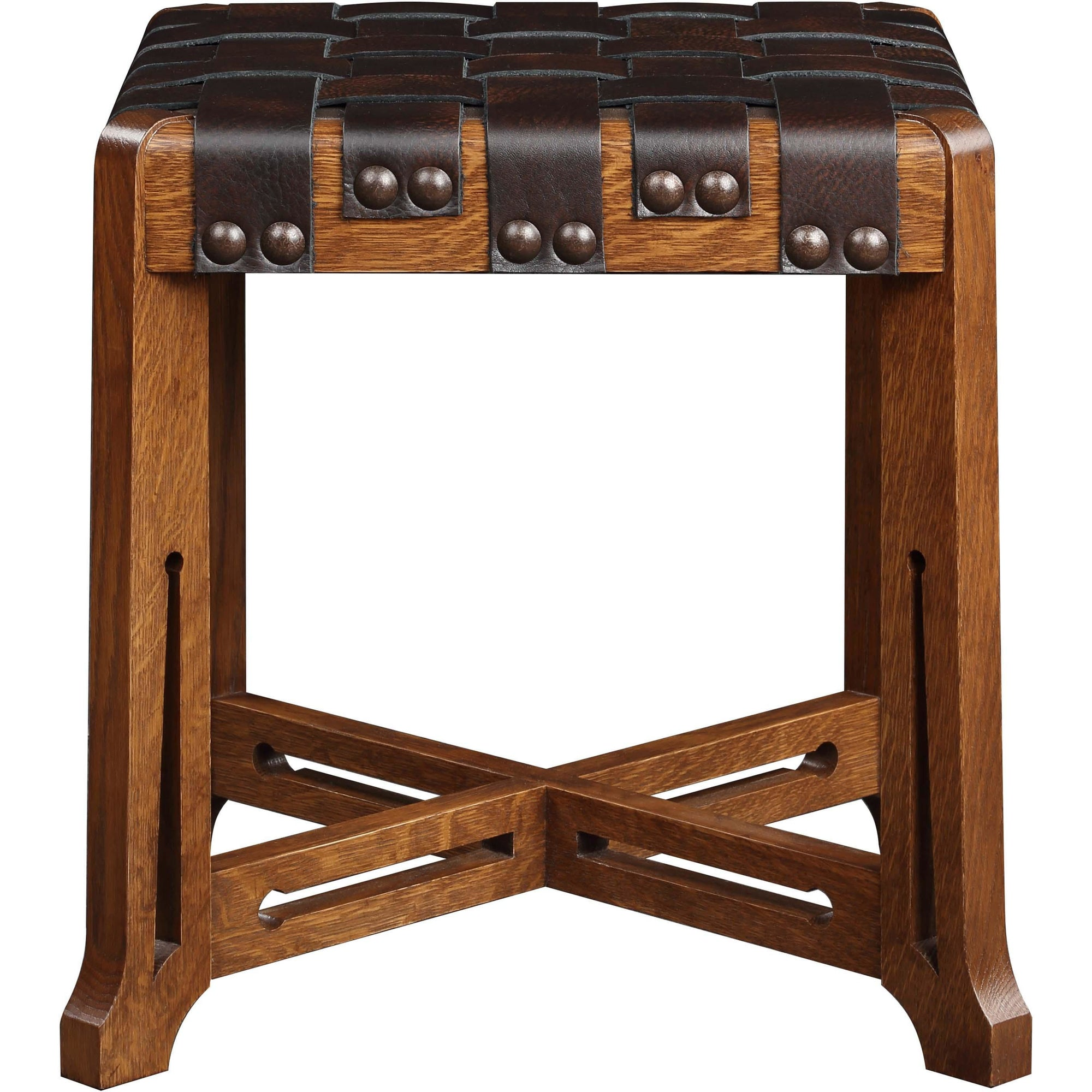 Little Treasures Leather Strap Stool