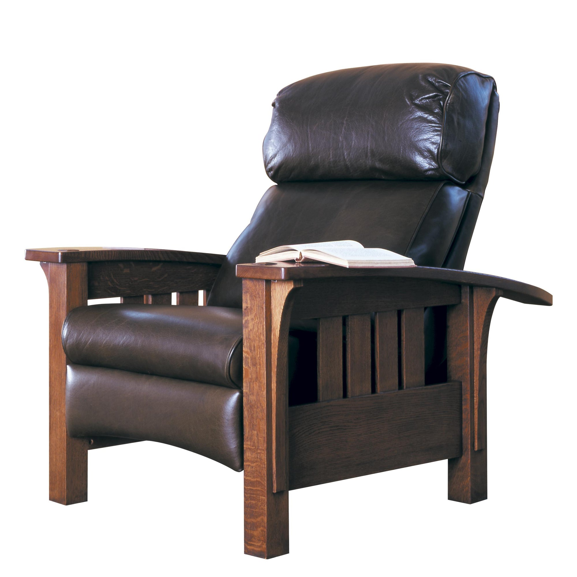 Morris Bow Arm Recliner