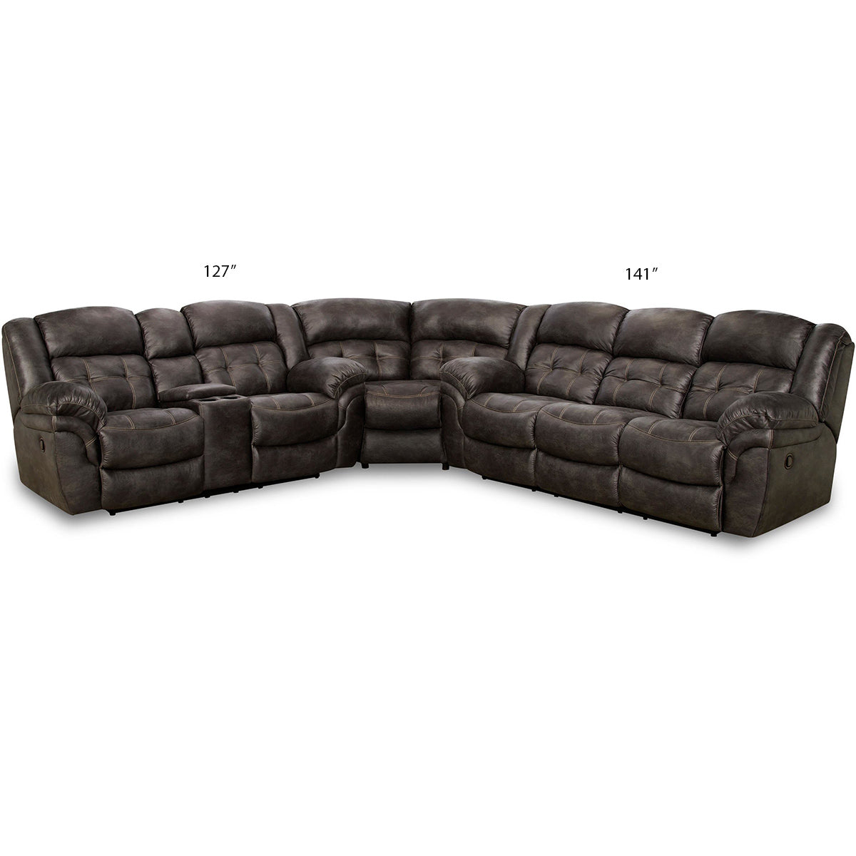 Frontier Reclining Sectional
