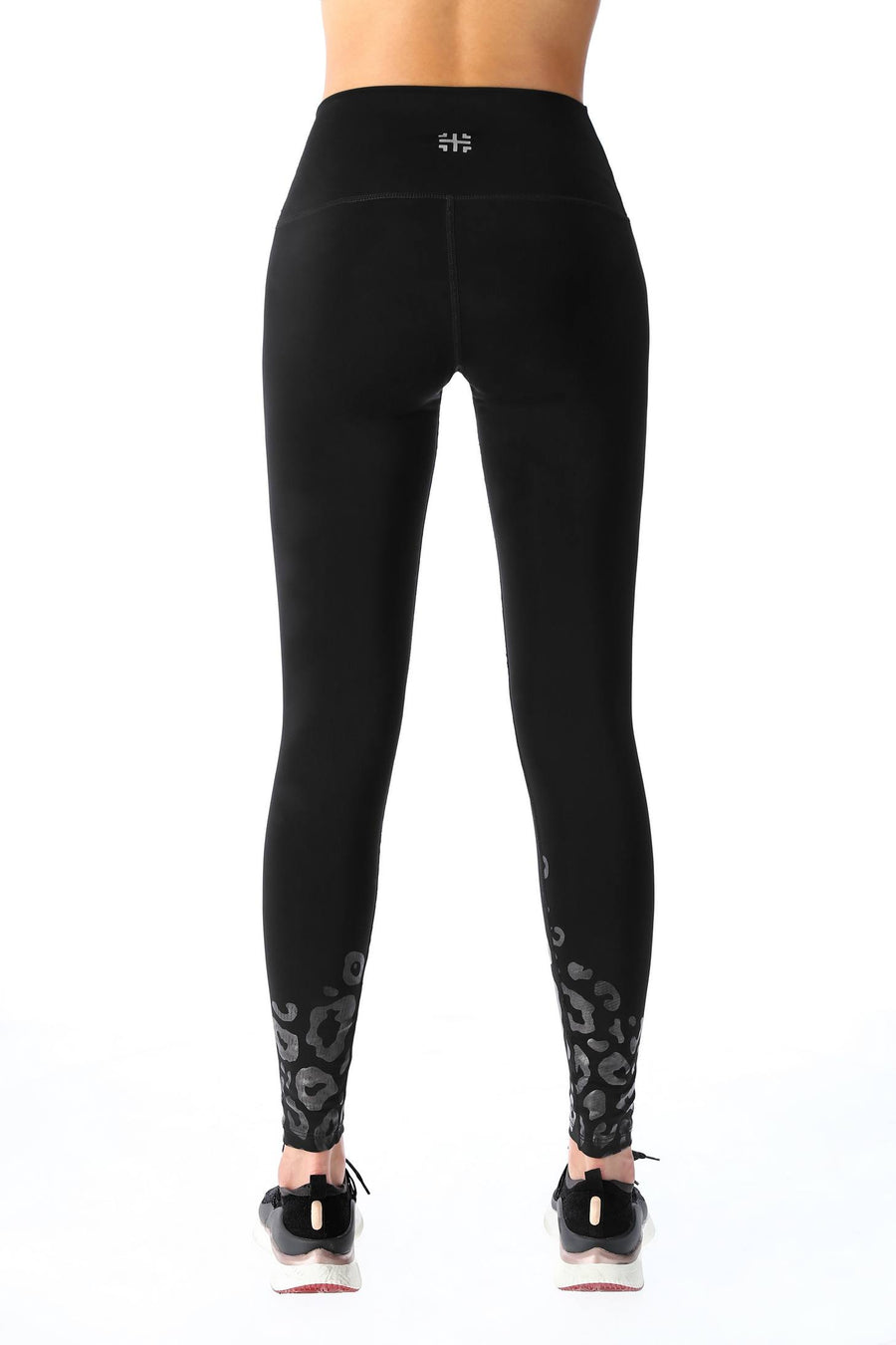 Leggings Black cheetah