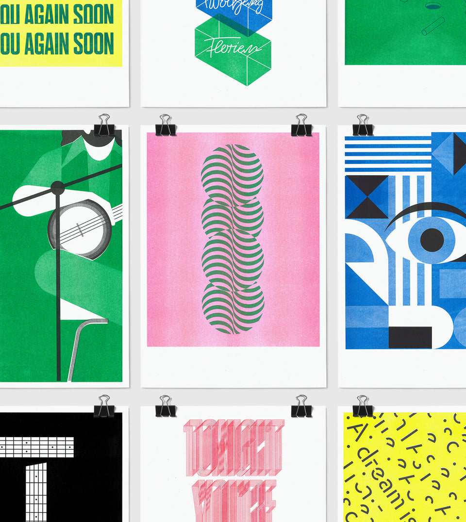 10 Riso Posters