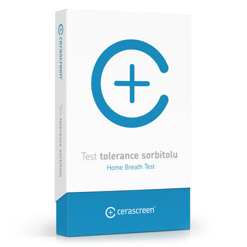 Test tolerance sorbitolu
