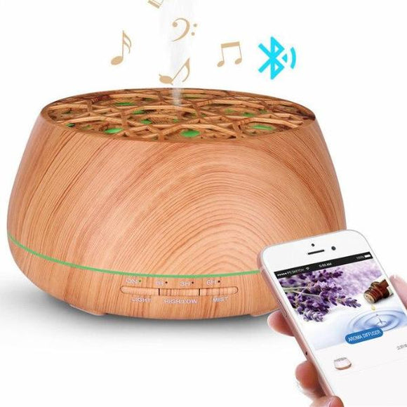 All-in-One Bluetooth Speaker & Essential Oil Diffuser/Humidifier