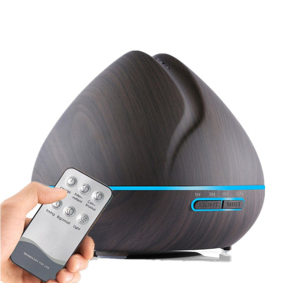 Arboreal Lotus Remote Control Essential Oil Diffuser/Humidifier