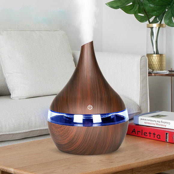 Pear-shape Perfection 300 mL Ultrasonic Essential Oil Diffuser/Humidifier