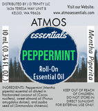 Peppermint Essential Oil Roller