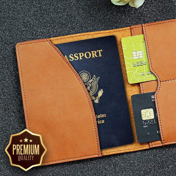 A Lifetime Of Adventures - Personalized Passport Travel Wallet