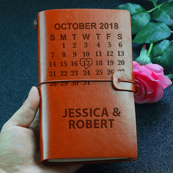 Custom Name - Special Calendar Journal