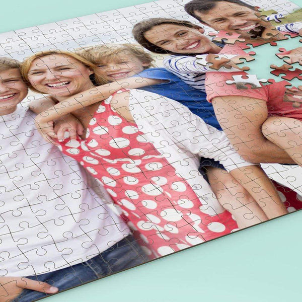 Custom Photo - Premium 252 Pieces Jigsaw Puzzle
